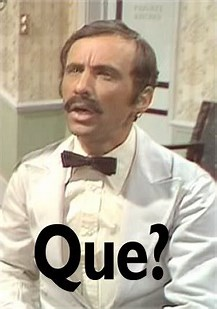Image result for manuel fawlty towers que
