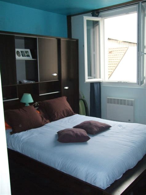 deco chambre turquoise awesome chambre turquoise et chocolat contemporary