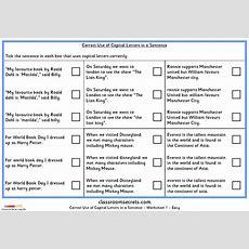 Correct Use Of Capital Letters In Sentences Ks2 Spag Test Practice  Classroom Secrets