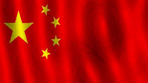 Chinese Flag Motion Background - Storyblocks