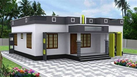 square feet  bedroom single floor modern house  plan home pictures