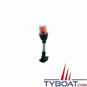 Feu De Navigation Bateau : feu de navigation tricolore tanche sur hampe 26 cm pour bateaux de moins de 12 m tres ~ Maxctalentgroup.com Avis de Voitures