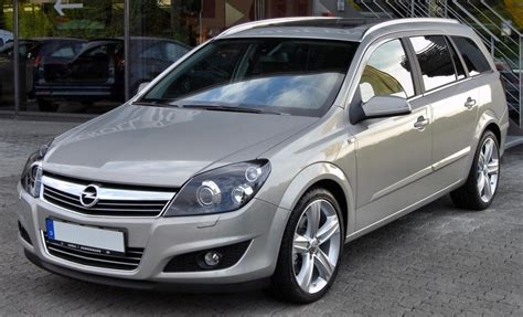 2007 Opel Astra H Caravan Pictures Information And