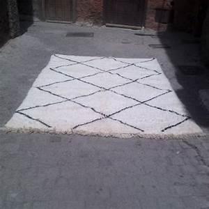 tapis marocain taznakht ancien en laine With tapis marocain laine