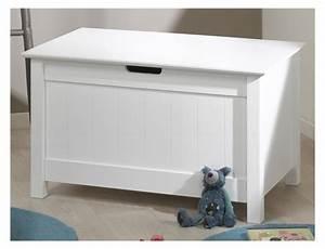 Coffre Jouet Enfant : coffre jouet blanc ~ Teatrodelosmanantiales.com Idées de Décoration