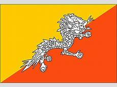 Encyclopédie Larousse en ligne Drapeau du Bhoutan