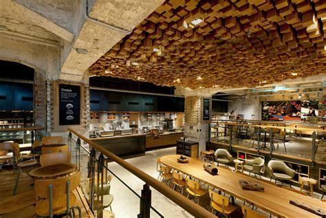 Starbucks Concept Store In Amsterdam by 187 Starbucks Concept Store Amsterdam