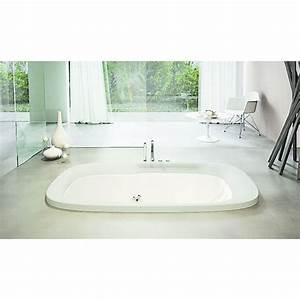 Baignoire A Poser : baignoire baln o ovale poser ou encastrer muse ~ Edinachiropracticcenter.com Idées de Décoration