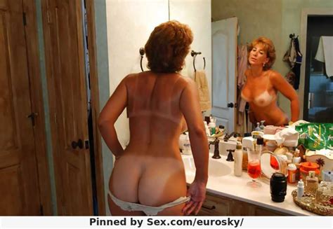 hot wife milf cheri showing her sexy tan lines and eurosky