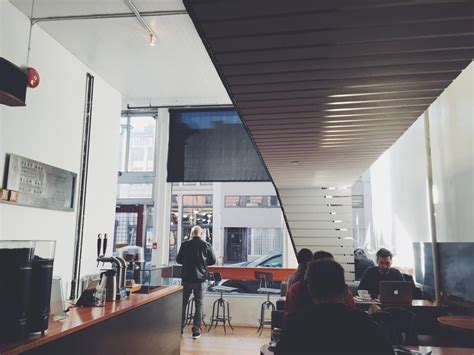 One of vancouver's favourite local coffee roasters with a stunning space and an admirable goal: Timbertrain Coffee Roasters   Coffee, Downtown vancouver ...