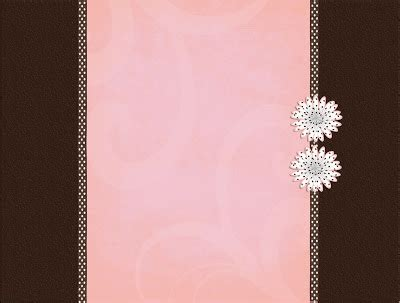 background bloggers custom blog designs pinkbrown dots