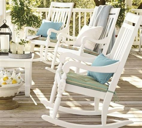 outdoor rocking chairs decor ideas for seaside vacation