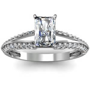 Matching Wedding Bands Pave Engagement Ring