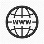 Internet Web Globe Wide Network Icon Seo