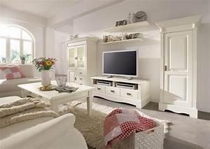 Vintage Wohnzimmer Möbel : landhaus wohnzimmer komplett kiefer paris vintage champagner gebeizt lackiert ~ Frokenaadalensverden.com Haus und Dekorationen