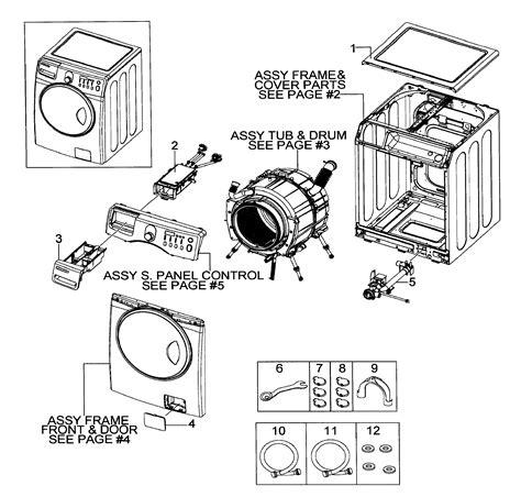 Circuit Diagram Samsung Washing Machine
