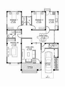Simple 3 Bedroom Home Blueprints and Floor Plans And ...