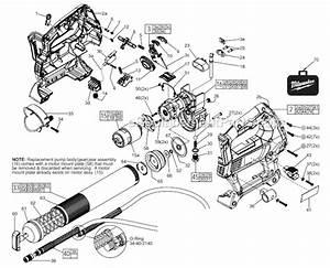 Milwaukee M18 Grease Gun