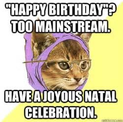 happy birthday cat meme quot happy birthday quot mainstream cat meme cat planet