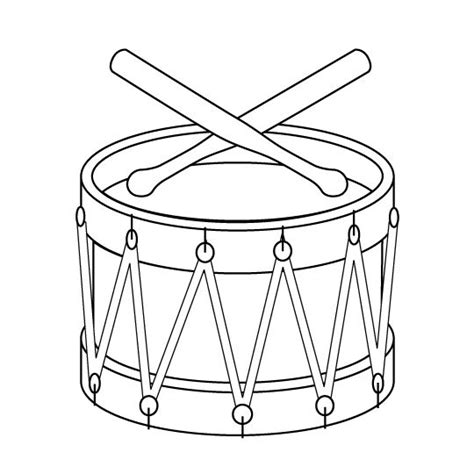drawing clipart drum pencil   color drawing clipart