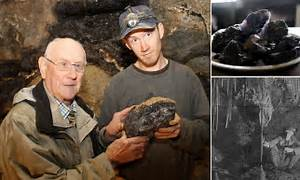 Grandson proves there was truth behind an old miner's tale ...