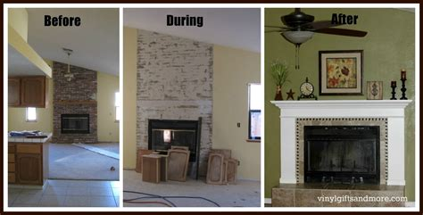 how to redo a fireplace saturday crafts fireplace remodel