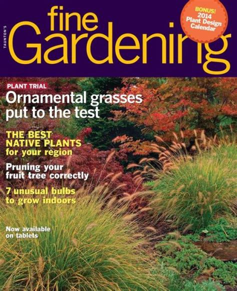gardening magazines fine gardening magazine subscriptions renewals gifts