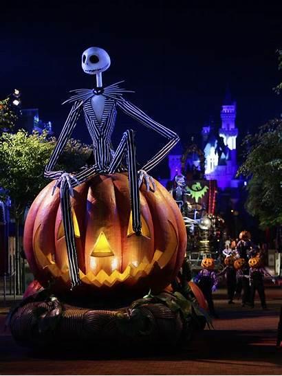 Halloween Disney Backgrounds Disneyland Wallpapertag