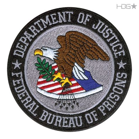 federal bureau of prisons department of justice federal bureau of prisons logo
