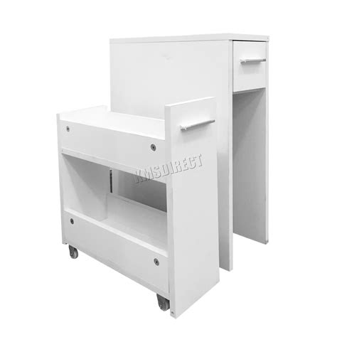 Slim Bathroom Drawers by Foxhunter Bathroom Kitchen Slide Out Storage Drawer