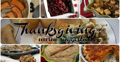 Kitchen Kabaret Thanksgiving Menu by Thanksgiving Menu Suggestions Add Yours All