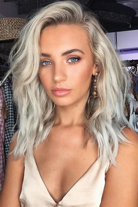 Platinum Hairstyle by 2018 Hair Color Southern Living