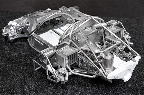 The most common porsche model kit material is metal. Porsche 962C Fulldetail Kit - Model Factory Hiro | Car ...