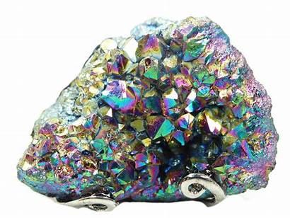 Quartz Aura Crystal Crystals Metal