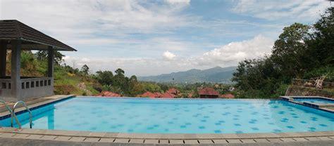 villa tania kolam renang pribadi  panorama alam
