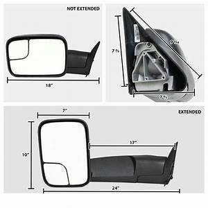 Factory Style Tow Mirrors   94