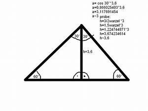 Rechtwinkliges Dreieck Berechnen Nur Eine Seite Gegeben : wie berechnet man die seite eines gleichseitigen dreiecks pythagoras hausaufgaben dreieck ~ Themetempest.com Abrechnung