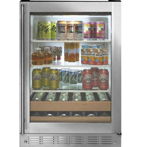 zdbrhbs monogram stainless steel beverage center  monogram collection