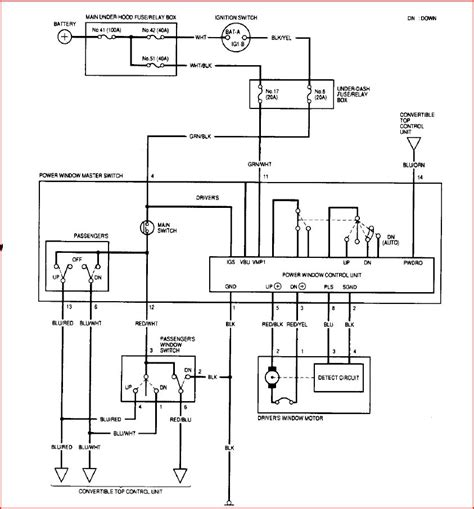 power window wiring diagram power free engine image for