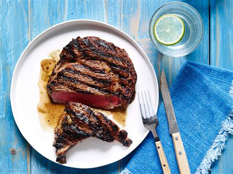 cuisine grill perfectly grilled steak recipe bobby flay food