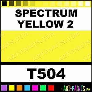 spectrum yellow 2 soft pastel paints t504 spectrum