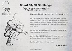 30  30 Squat Challenge By Ido Portal