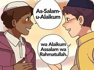 Einen Muslim mit dem islamischen Gruß begrüßen – wikiHow