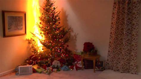 christmas tree lights fire state farm 174 hazards