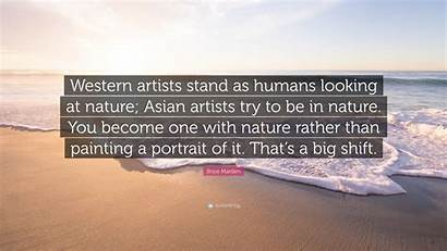 Nature Artists Humans Western Stand Looking Marden