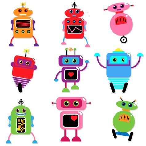 robo de cuisine robots clipart and vectors tulipworks printables
