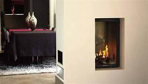 Cheminée Double Face : foyer tot vertiviison double face chemin e cheminee ~ Preciouscoupons.com Idées de Décoration