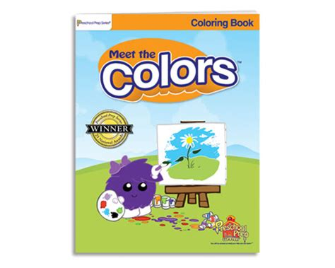 meet the colors preschool prep meet the colors coloring book 988