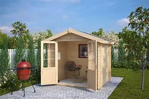 Kleines Gerätehaus Holz : kleines holz gartenhaus anita s 4m 28mm 2x2 ~ Michelbontemps.com Haus und Dekorationen