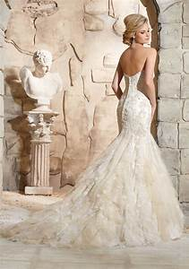 Mori lee designer fitted dream wedding dress sell my for Dream wedding dress maker